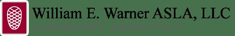 William E. Warner ASLA, LLC, Landscape Architect